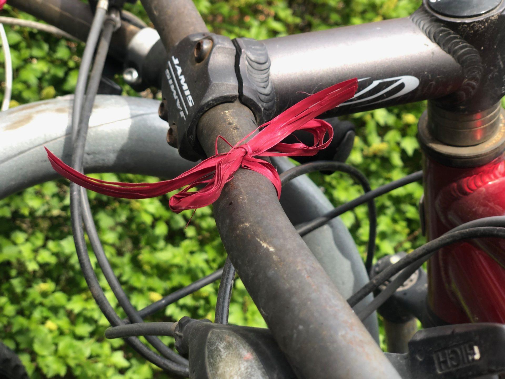 Sykkel med bånd